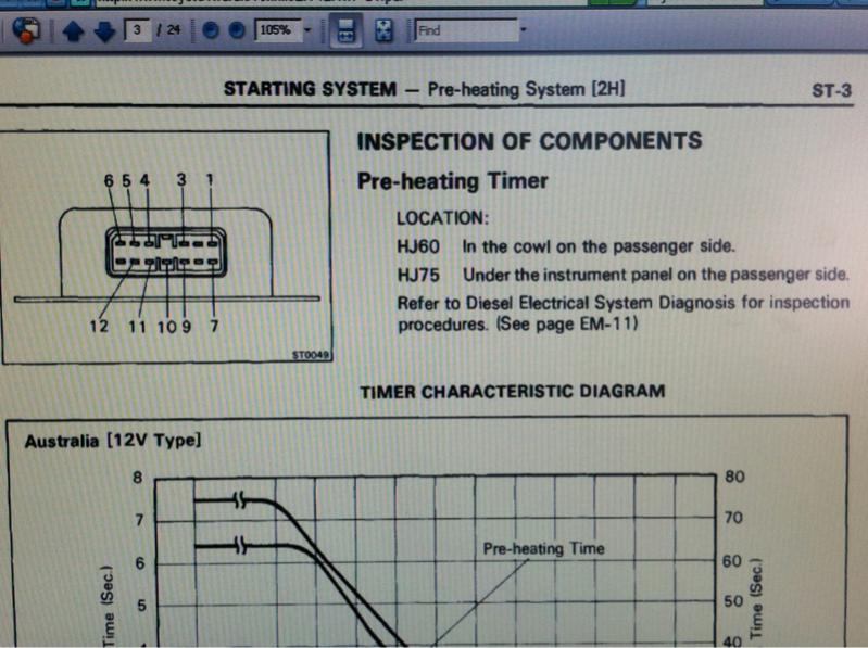 toyota heat wiring diagram 12ht pre heat timer in a 2h wire harness ih8mud forum  pre heat timer in a 2h wire harness