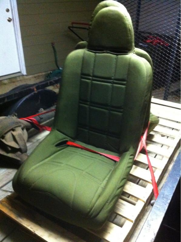 For Sale - [MS] Olive Green MasterCraft Military Seats