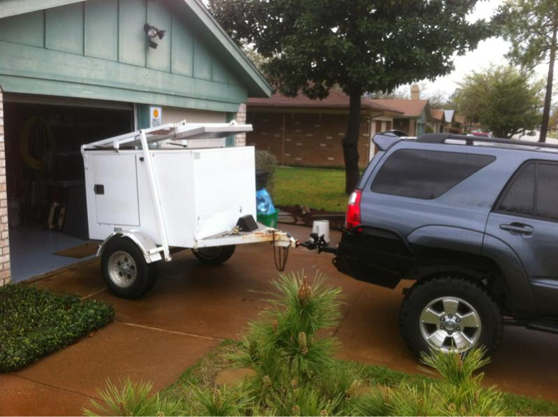 Relatively 4x5' Camping Enclosed Trailer - Keller, TX. | IH8MUD Forum PT77