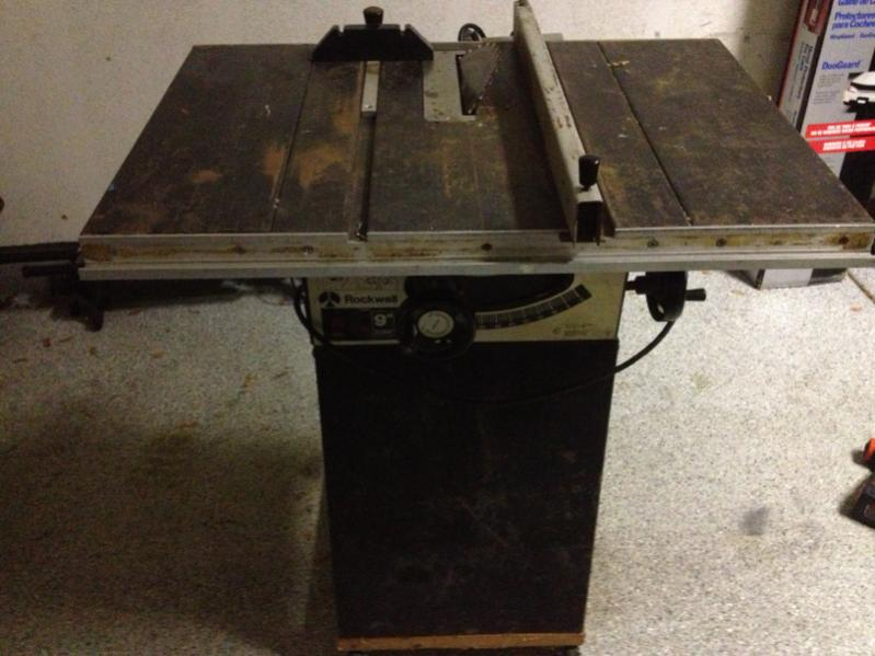 machinery saw buy table sell rockwell site woodworking machines ref toronto detail brighton ontario
