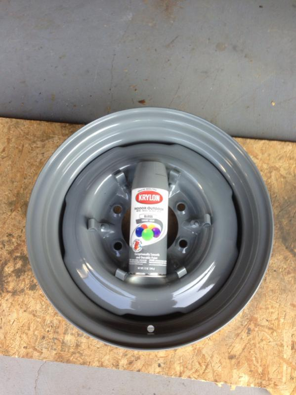 Rims For Cheap >> Rattle can color that is close to OEM gray wheel color | IH8MUD Forum