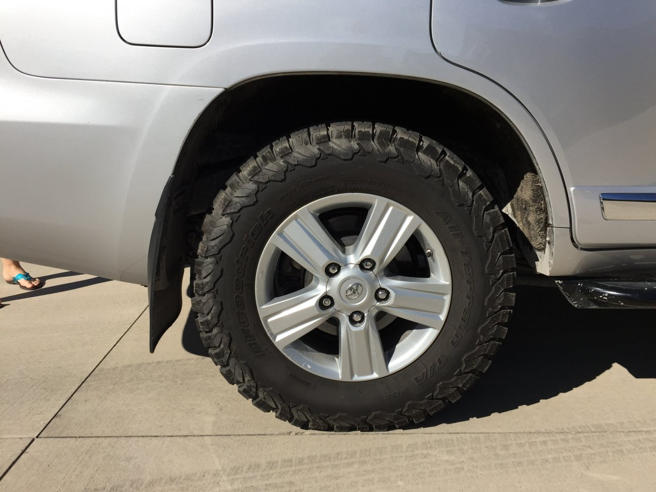 Would 33 Tires Fit In The Lc 200 Without A Suspension Lift Toyota Land Cruiser Kit Imagejpeg