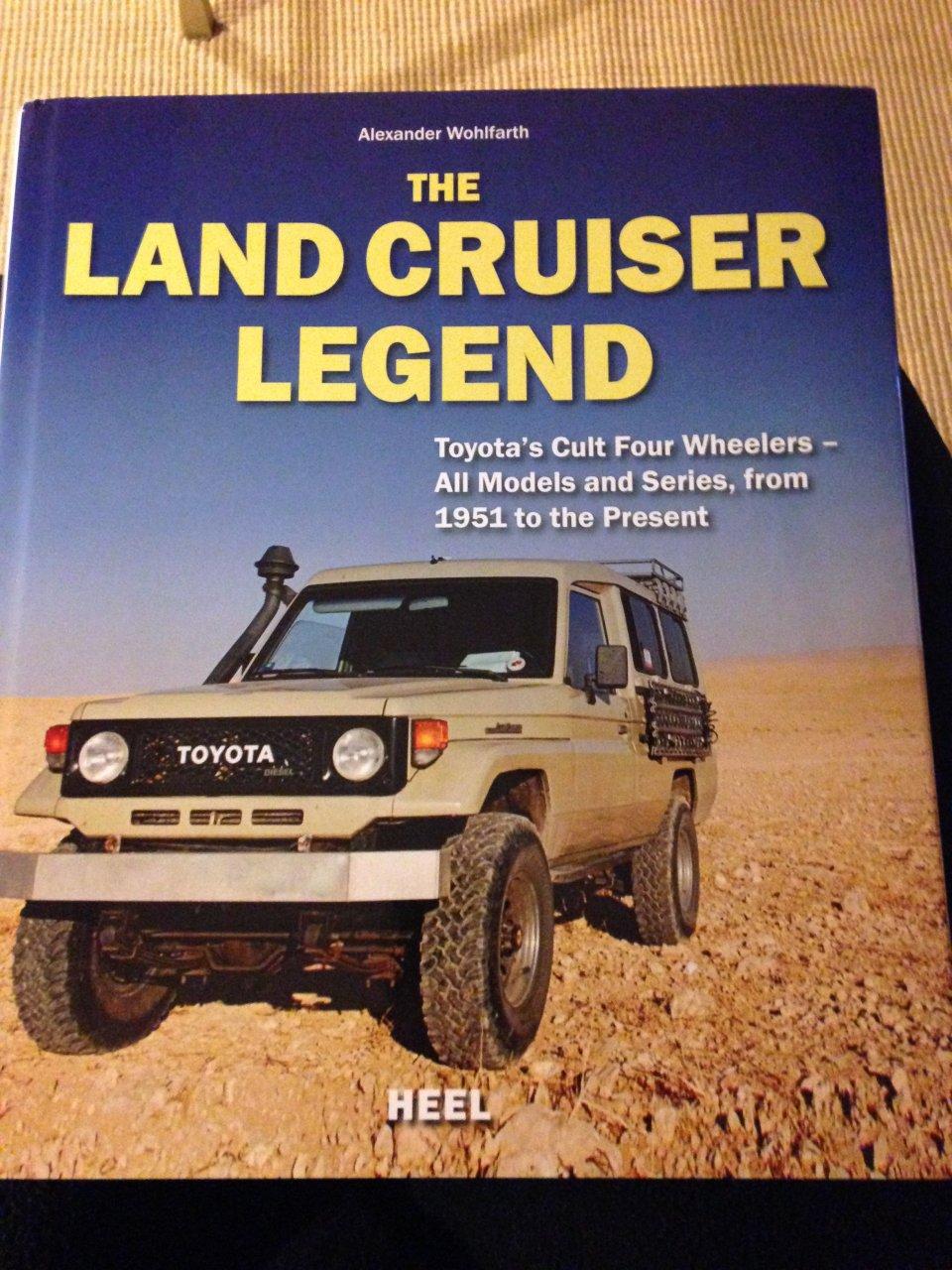 LAND CRUISER LEGEND TOYOTA BOOK WOHLFARTH FJ40 FJ