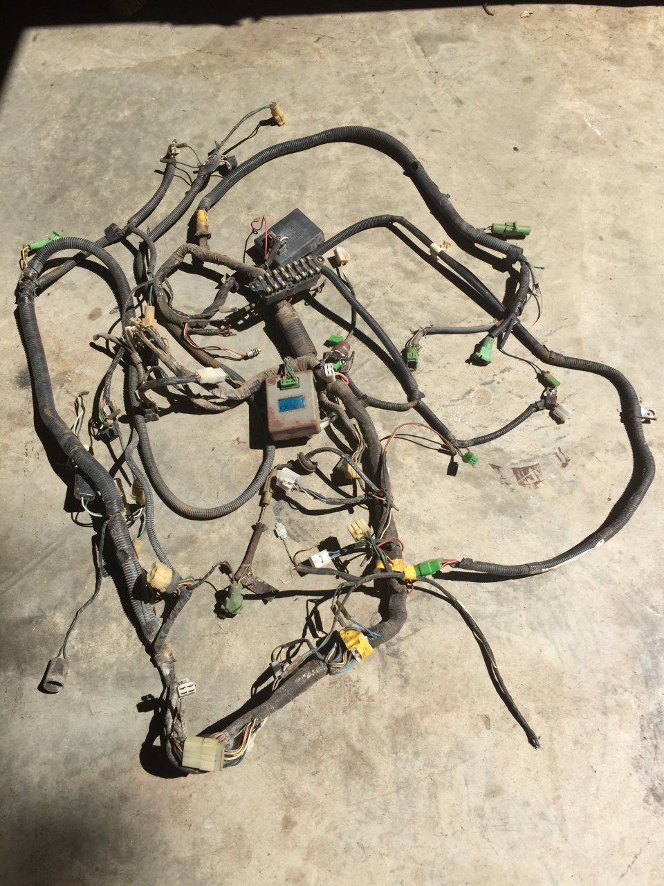 Wiring Harness For Sale : For sale fj wiring harness ga ih mud forum