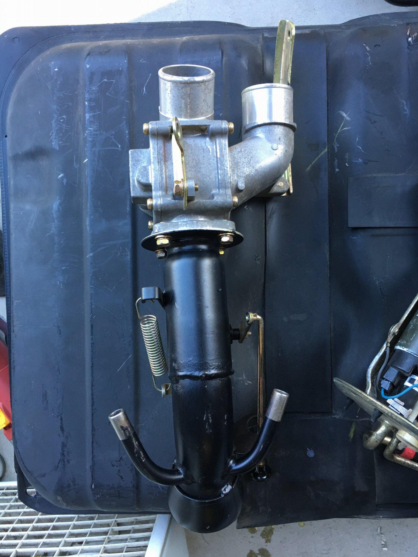 100 Series OEM Auxiliary Fuel tank wiring diagram | IH8MUD ...