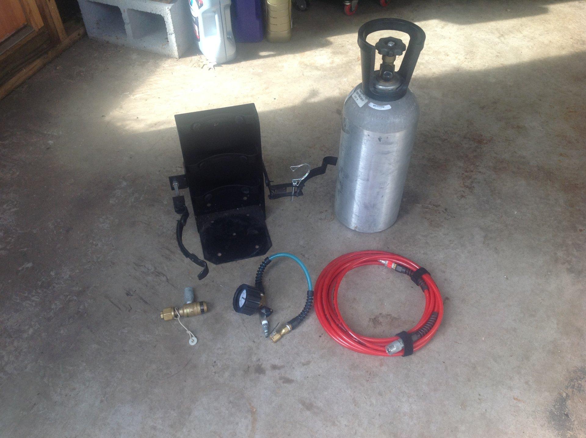 sale  lb  tire air updown tank kit  mounting bracket sold sold ihmud forum