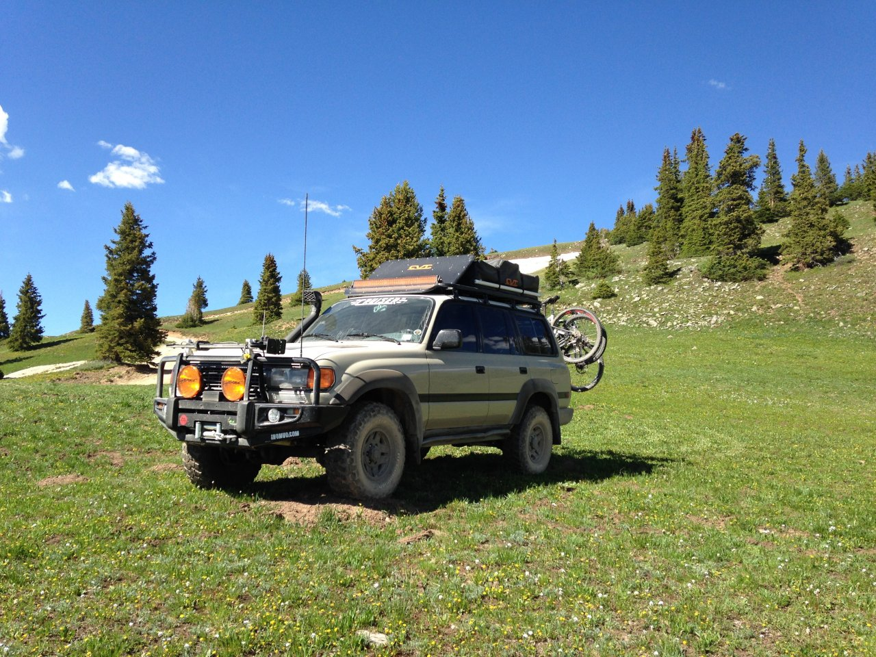 View attachment 1004654 & MPG loaded with rooftop tent? | IH8MUD Forum