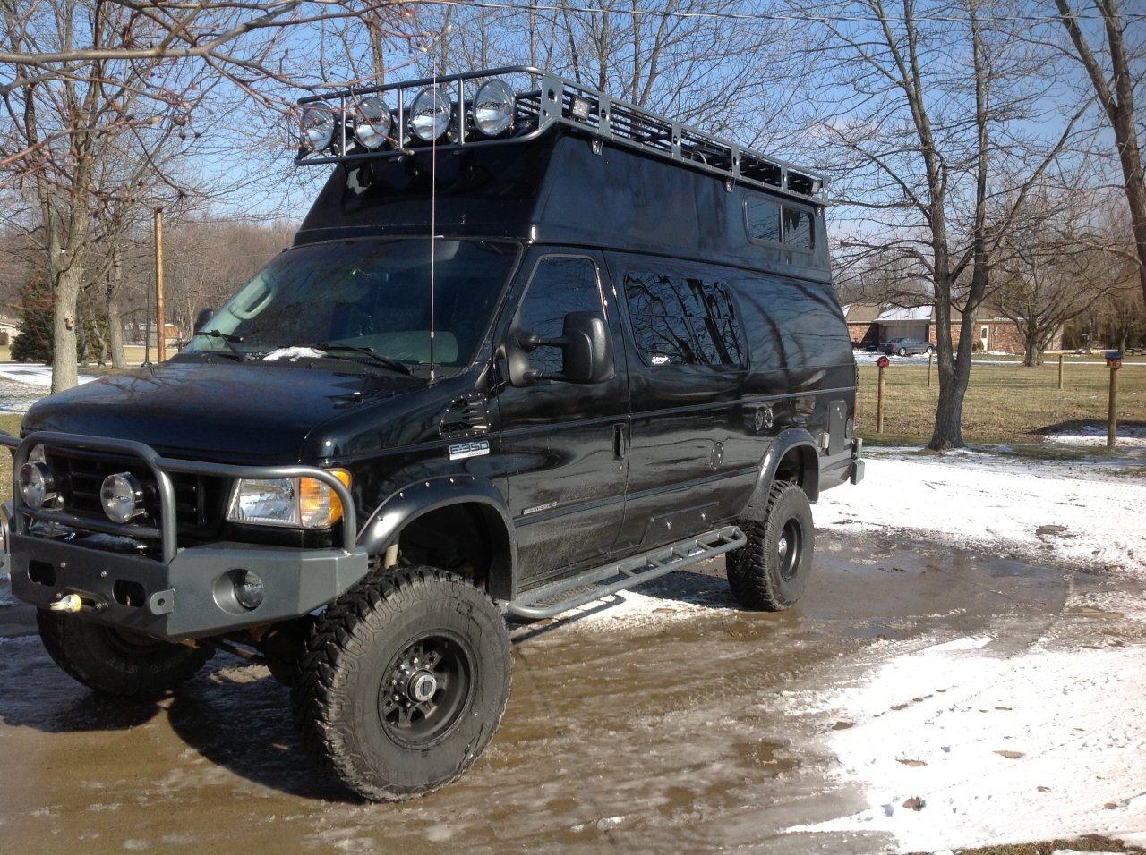 For sale 2003 ford e350 4x4 rv tow rig 7 3 diesel ih8mud forum