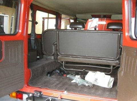 Did Fj40 Land Cruiser S Ever Come With A Rear Bench Seat