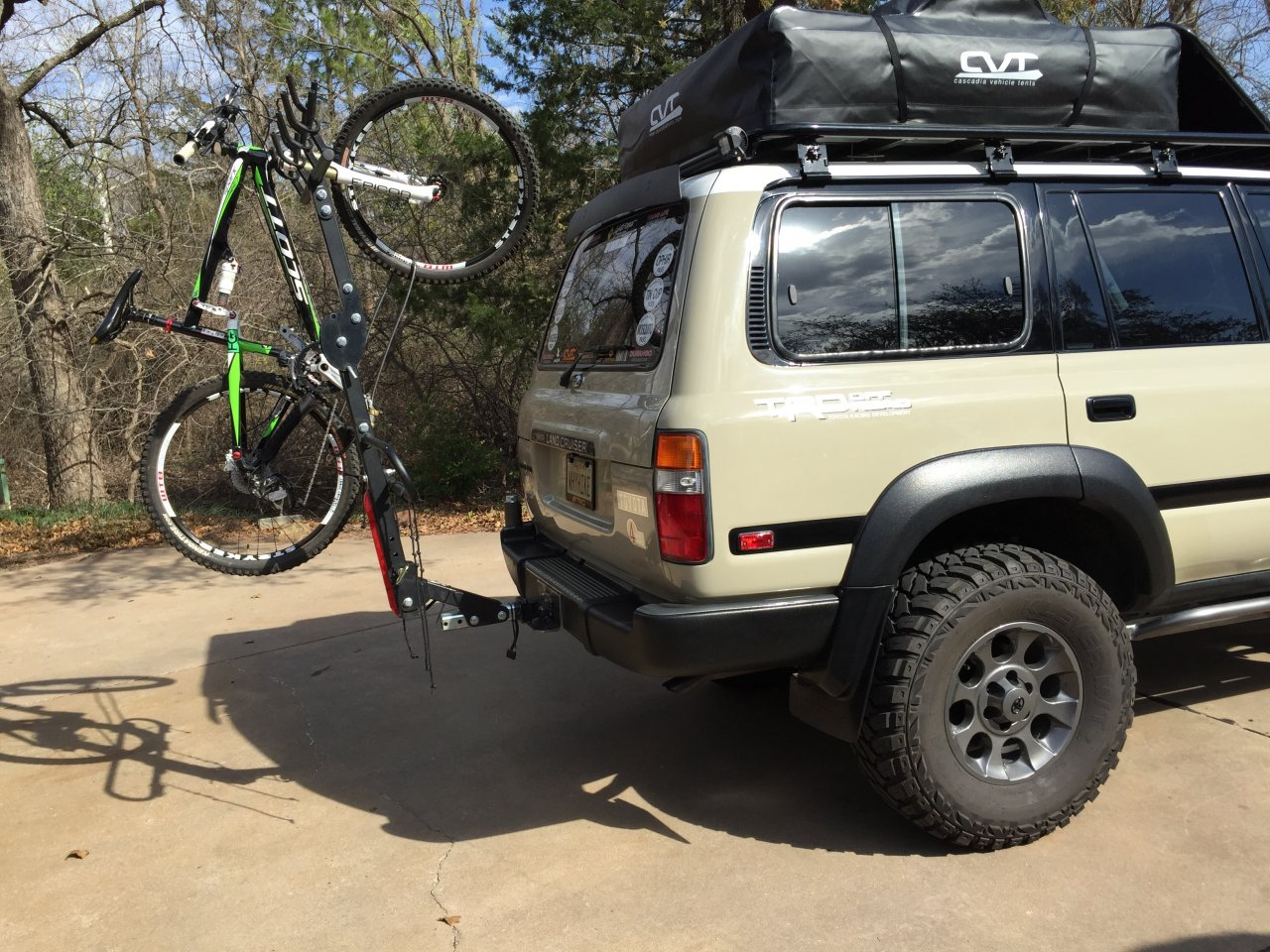 Bolt On Bike Carrier For Swing Out Spare Page 2 Ih8mud Forum