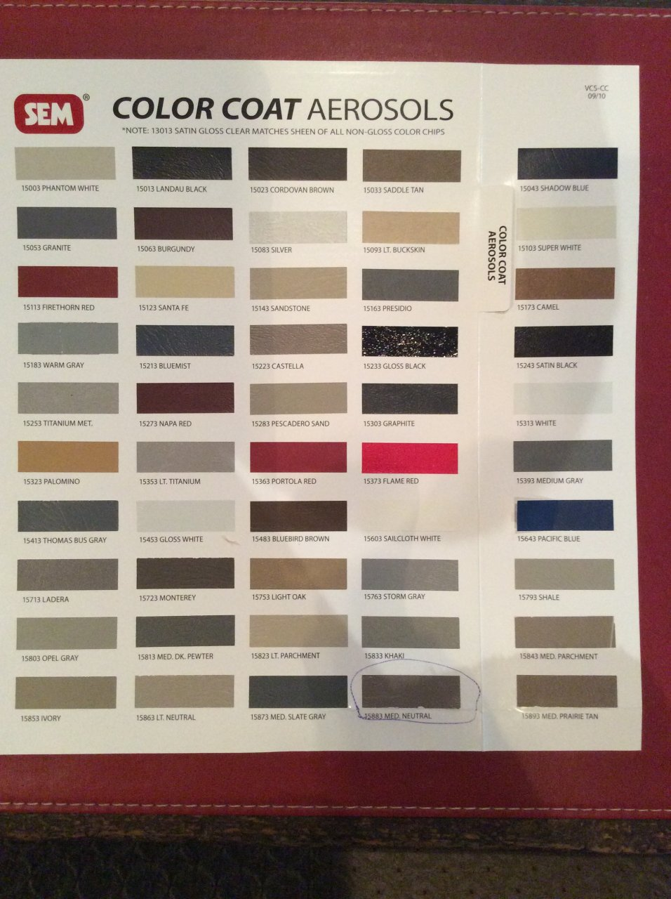 Sem Interior Paint Color Chart Home Painting