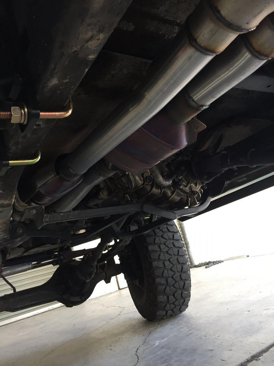 Fj62 2 5 inch exhaust performance problems | IH8MUD Forum