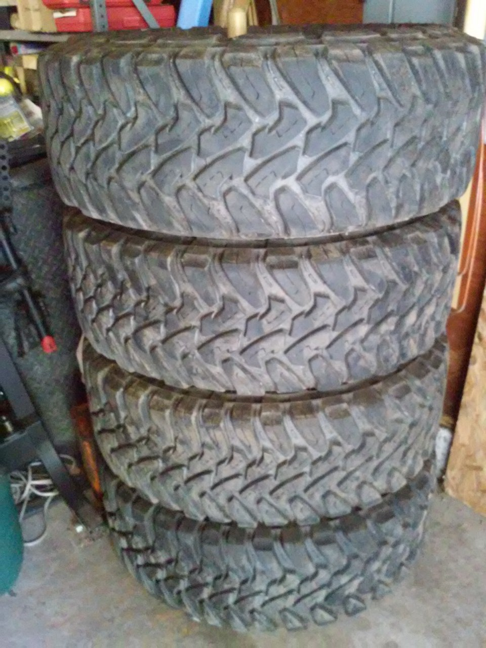 Off Road Tires >> For Sale - 4 Toyo MT's 315/75R16 in CT! | IH8MUD Forum