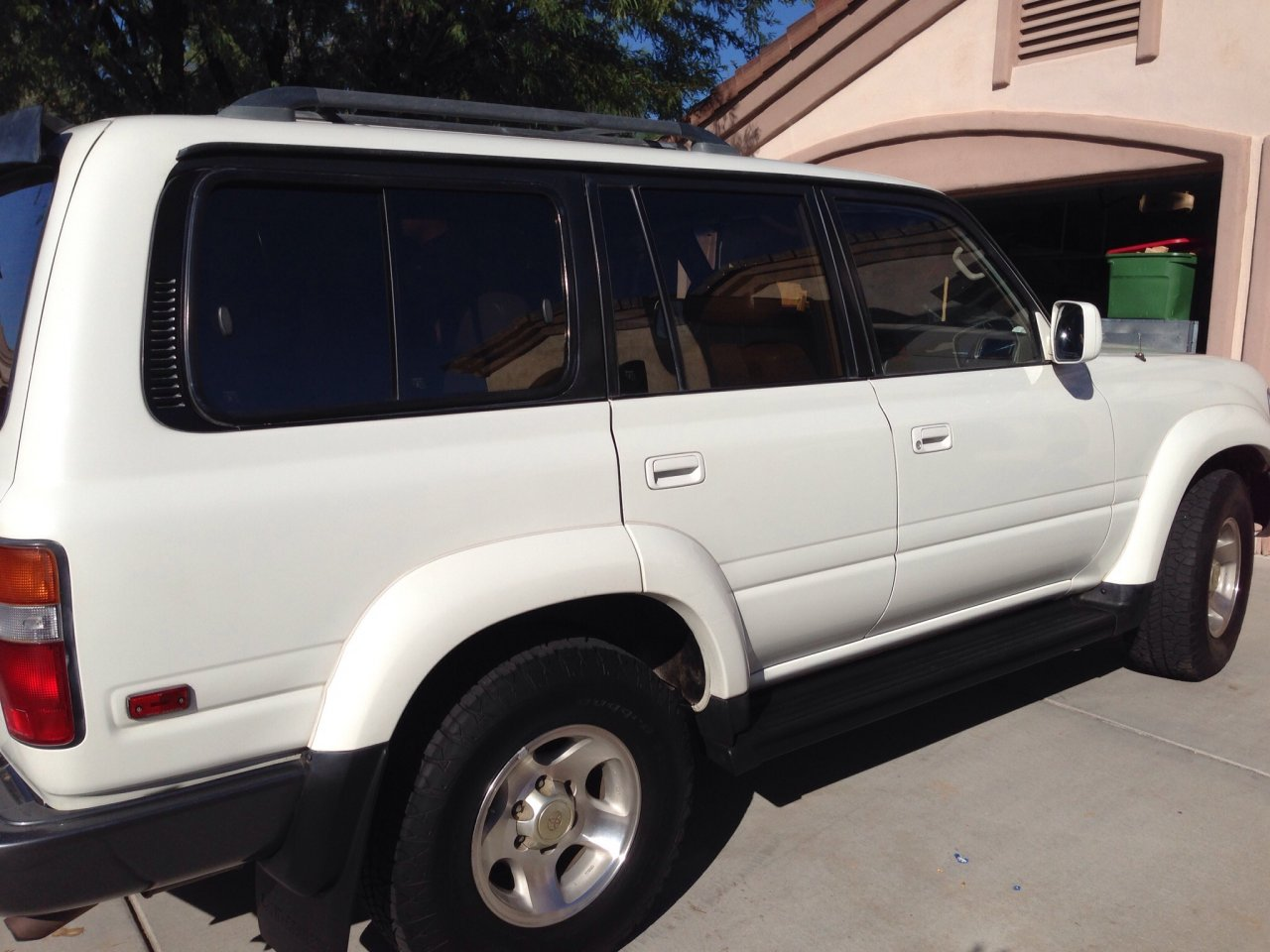 For Sale - WHITE 1996 Toyota Land Cruiser 80 series FJ80 ...