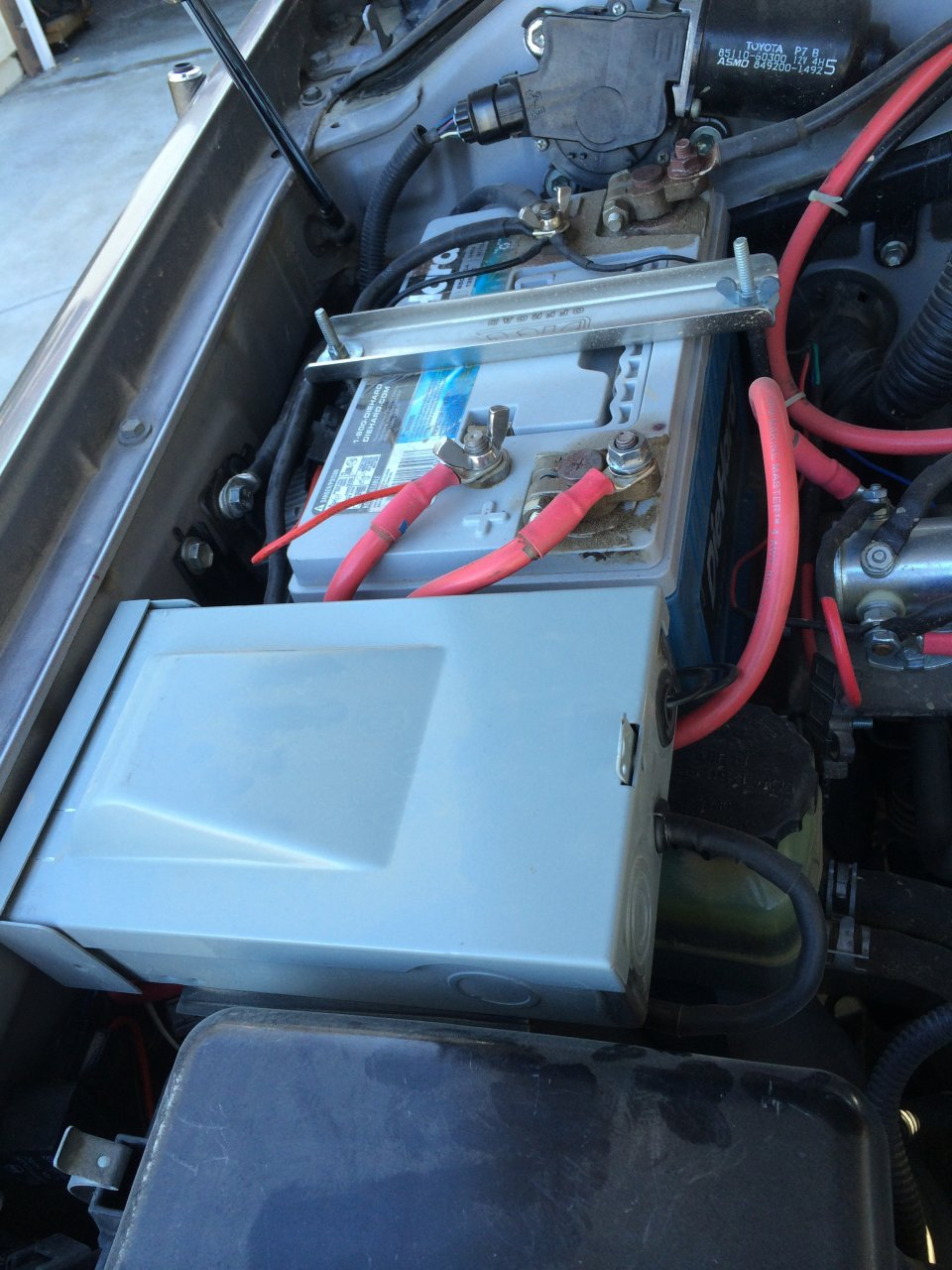 Who Has Added A Secondary Fuse Panel Pics Ih8mud Forum Can Am Rally Box Image