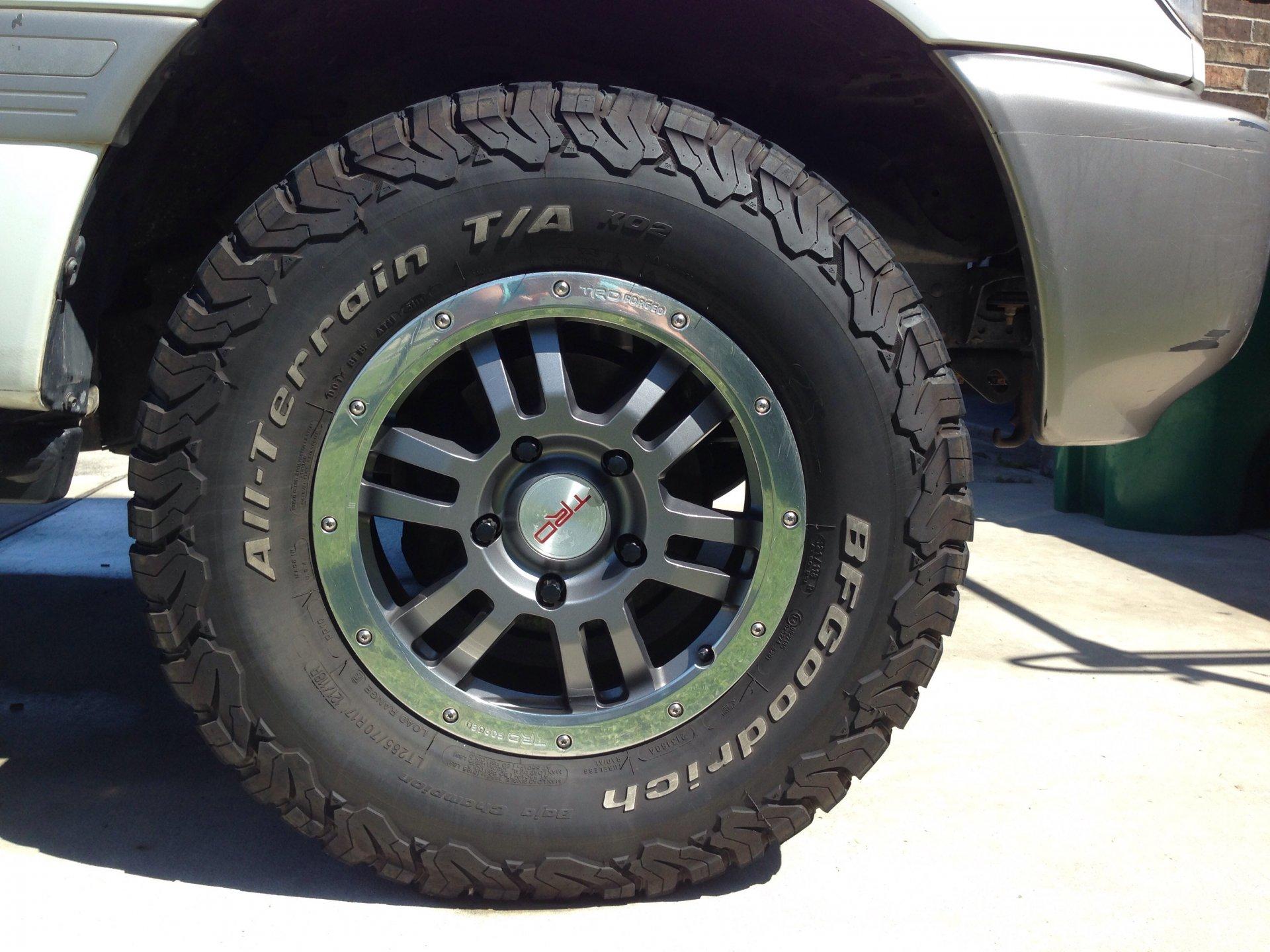 For Sale Tundra Rock Warrior wheels