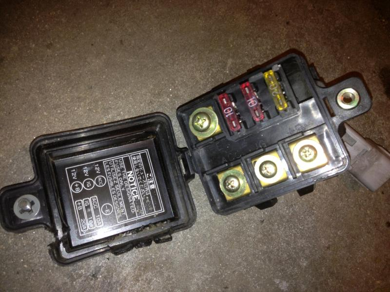 for sale 80 series jdm accessory fuse box ih8mud forum toyota landcruiser 80 series fuse box at n-0.co