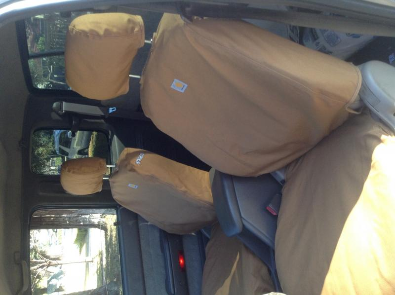 Toyota Tacoma Diesel >> Carhartt seat covers | IH8MUD Forum