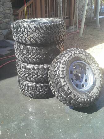 285 75r16 Tires Cheap >> TOYO Open Country M/T 285/75R16 ATX wheels - $2200 (Tahoe City)   IH8MUD Forum