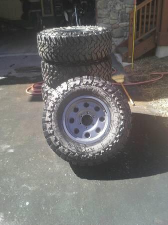 Toyota Of Lake City >> TOYO Open Country M/T 285/75R16 ATX wheels - $2200 (Tahoe City) | IH8MUD Forum