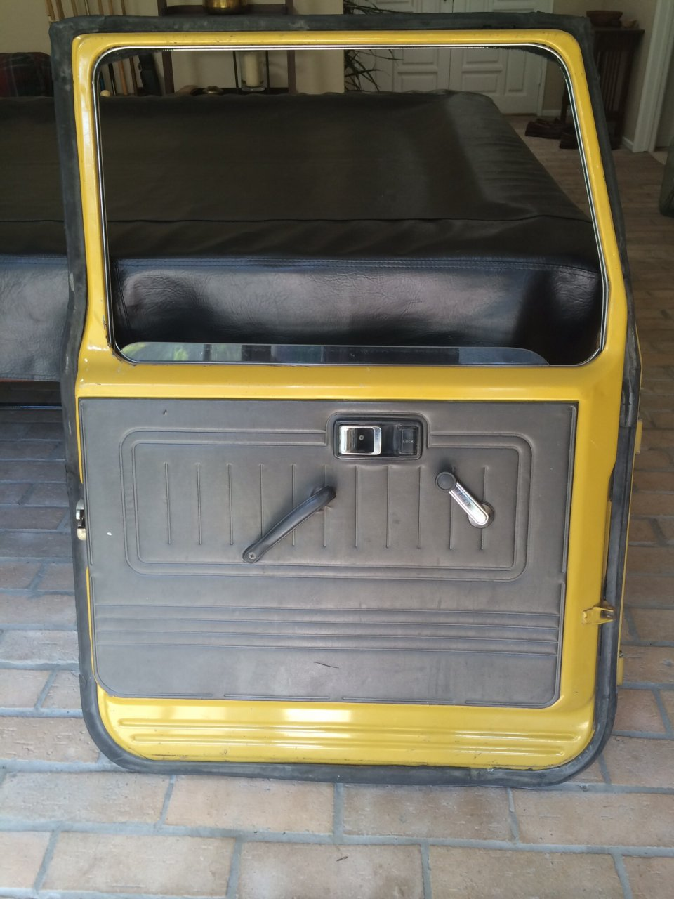 For sale socal fj40 front doors ih8mud forum for Exterior back doors for sale
