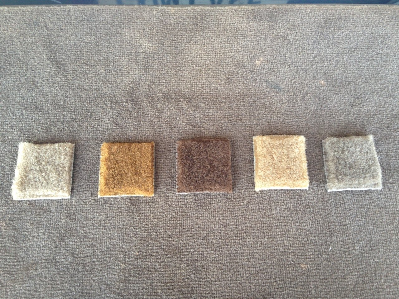 Samples From Stockinteriors.com. OE Carpet Seen Is From The Tailgate Of A  97 LC. Seems 8655 Is The Best Match For My Carpet.