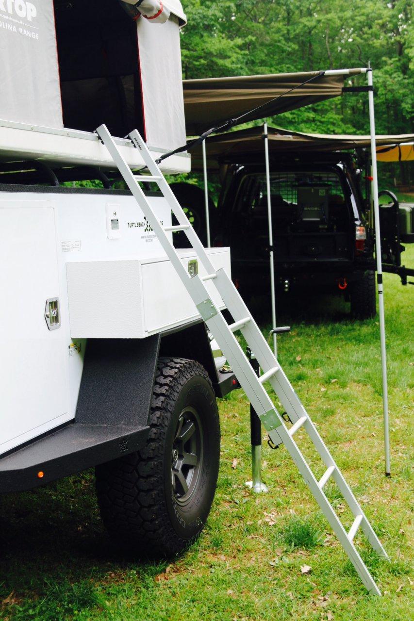 For Sale - Turtleback Trailer and Airtop Tent , Fairfax Va