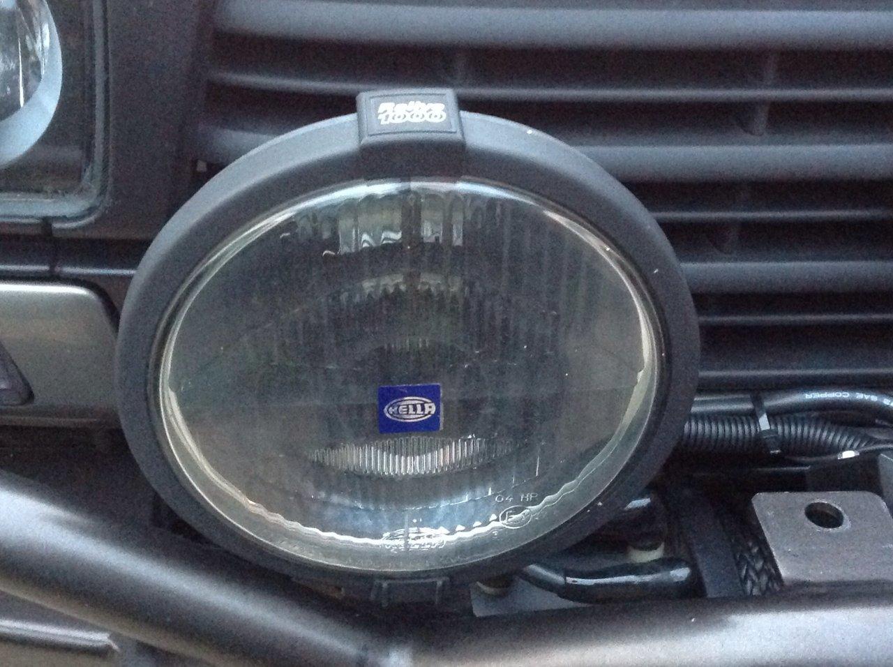 For Sale Houstonpair Of Hella 1000 Black Magic Lights W Wiring Harness Toyota 4runner