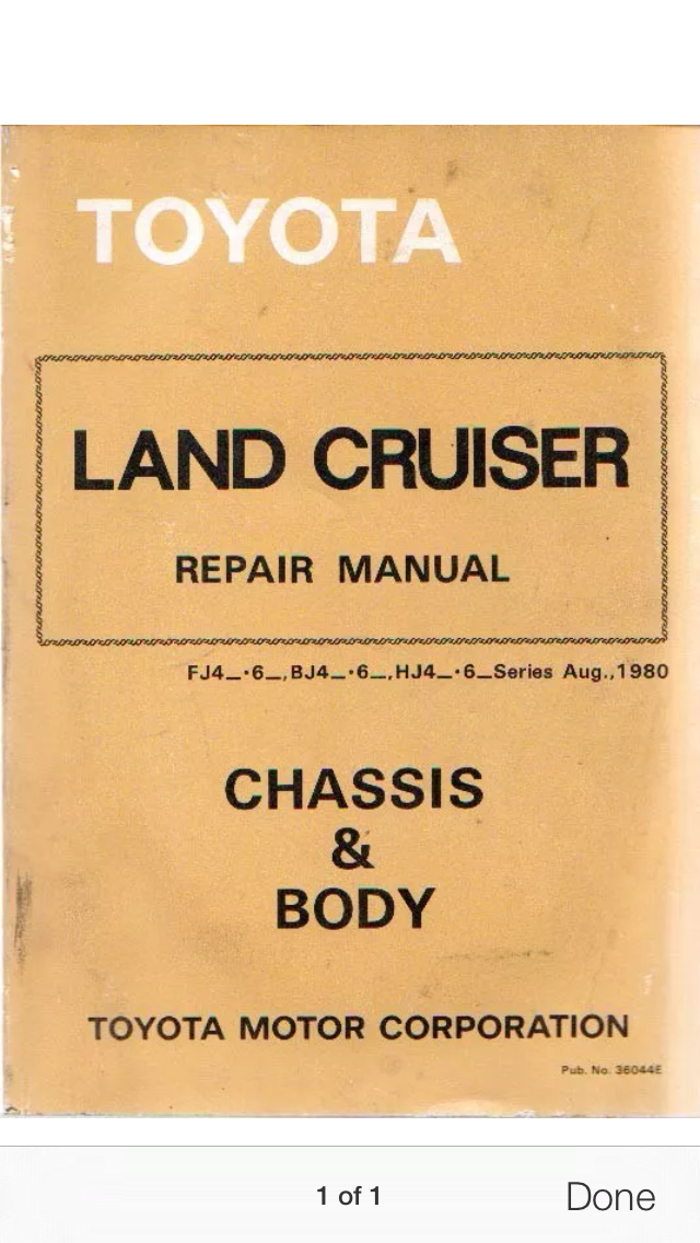 what s the best fj40 repair manual ih8mud forum rh forum ih8mud com Land Cruiser FJ40 FJ40 Restoration