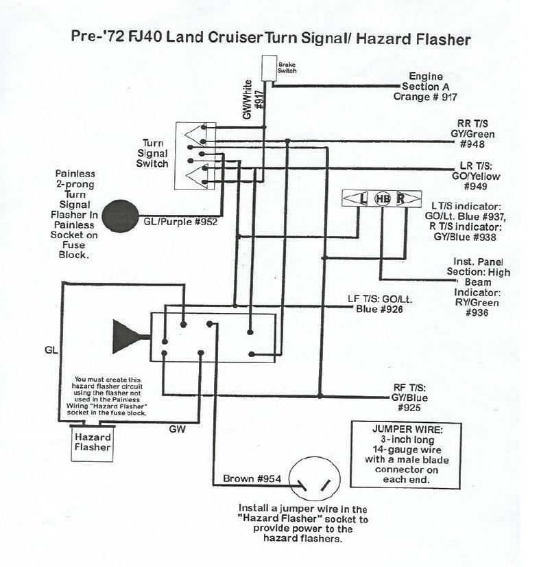 Painless Wiring Kit Hazard Circuit Fault | IH8MUD Forum