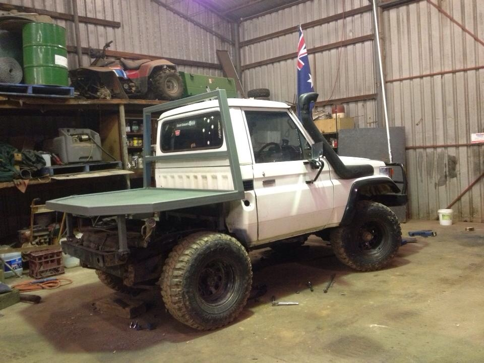 1987 Bj70 75 Toyota Landcruiser Swb Build Up Ih8mud Forum