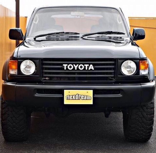2008 Toyota Land Cruiser Transmission: An 80 With 60 Headlights And Grill?