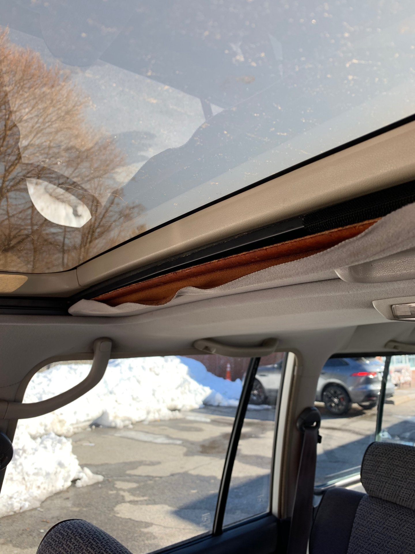 Best way to fix some drooping / peeling sunroof cloth? | IH8MUD Forum