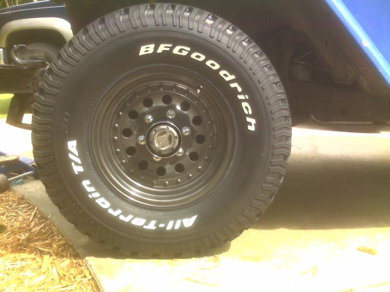 All Terrain Truck Tires >> FJ40 rim size vs. 31x10.5x15 tire | IH8MUD Forum