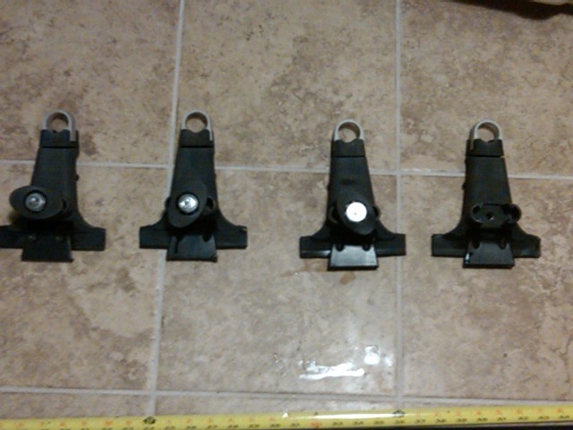 For Sale Yakima 1a Gutter Mount Roof Rack Towers Ih8mud