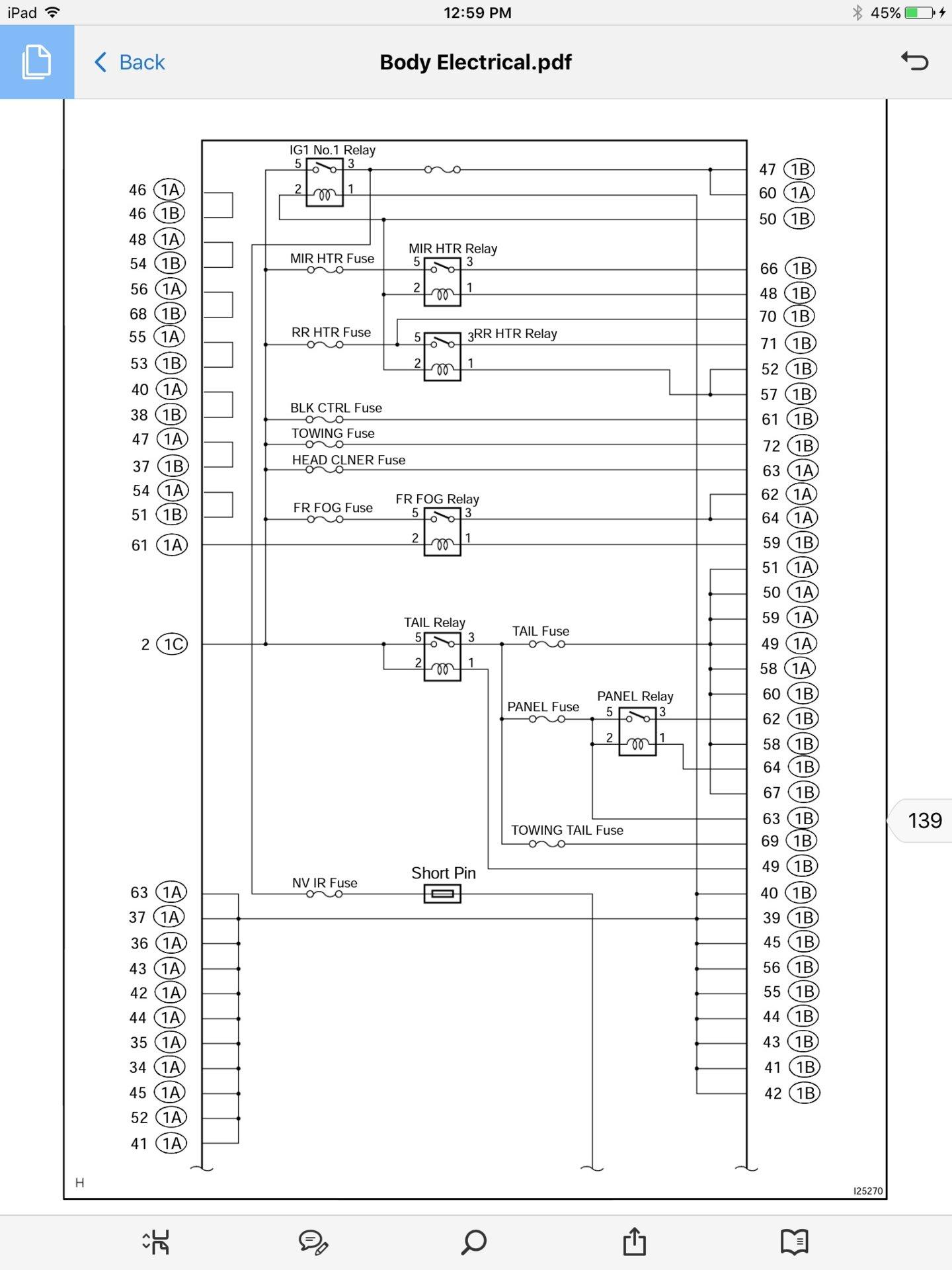Under Hood Fuse Box Diagram 2003 Lx470 Trusted Schematics 2005 Lexus Gx 470 Headlight Electrical Mystery Ih8mud Forum 93 Honda Accord