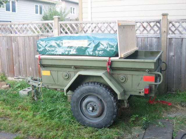 military trailer wiring conversion wire center u2022 rh felgane co 4 Pin Trailer Wiring 7 Pin Trailer Wiring Diagram