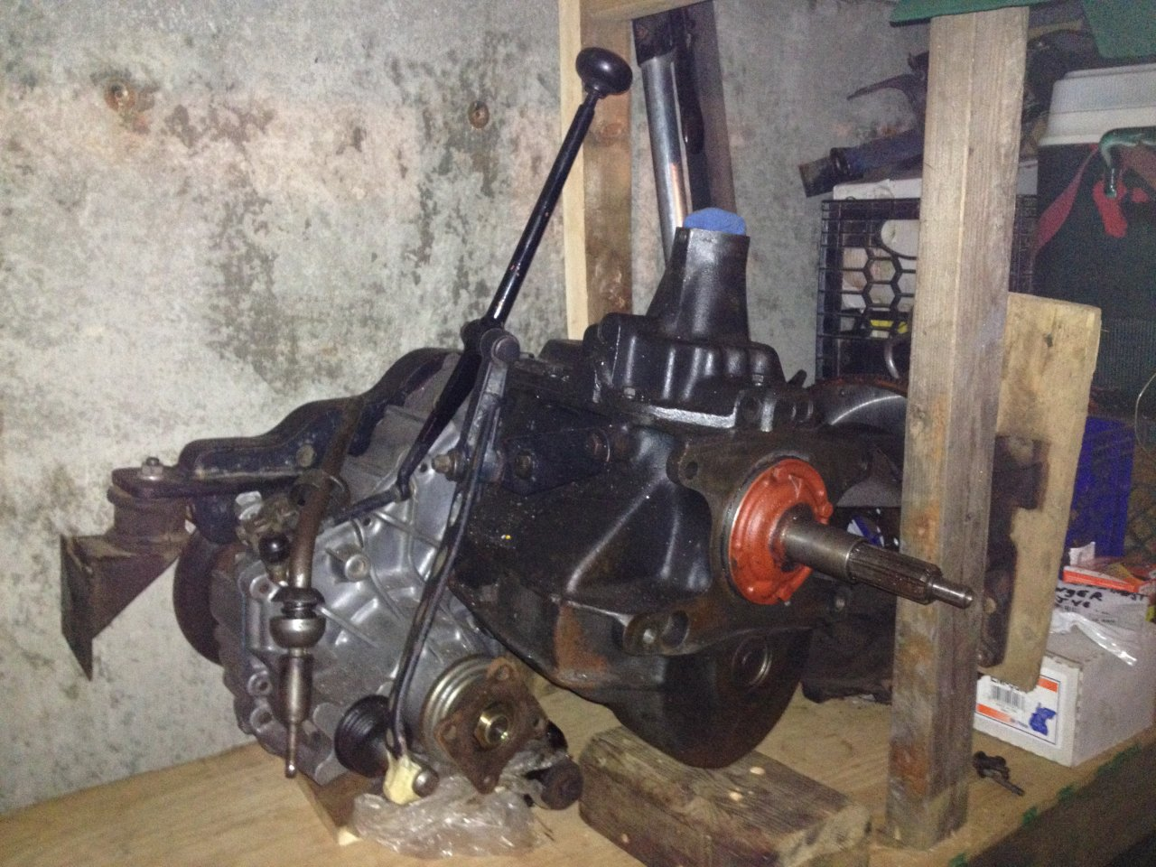 Transfer Case Parts >> craigslist - FJ40 1972 Parts for sell/ 86 Transmission / SM 420 Custom Conversion Transmission ...