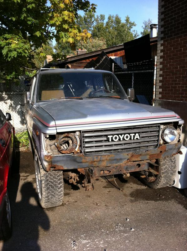 Toyota Land Cruiser For Sale Parting Out - 1987 Toyota Land Cruiser HJ60 Diesel + Parts ...