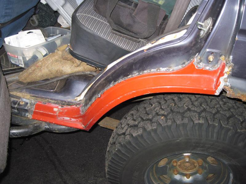 FJ60 Dogleg replacement and other rust repair   IH8MUD Forum