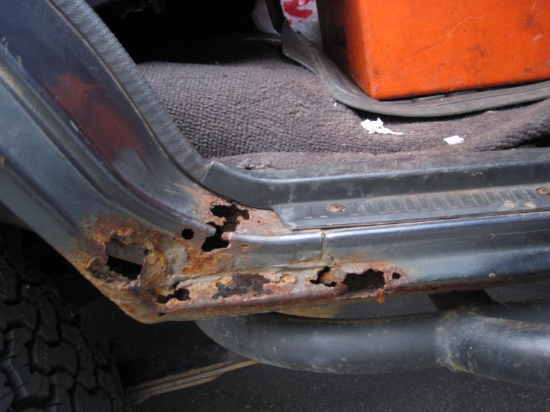 FJ60 Dogleg replacement and other rust repair | IH8MUD Forum