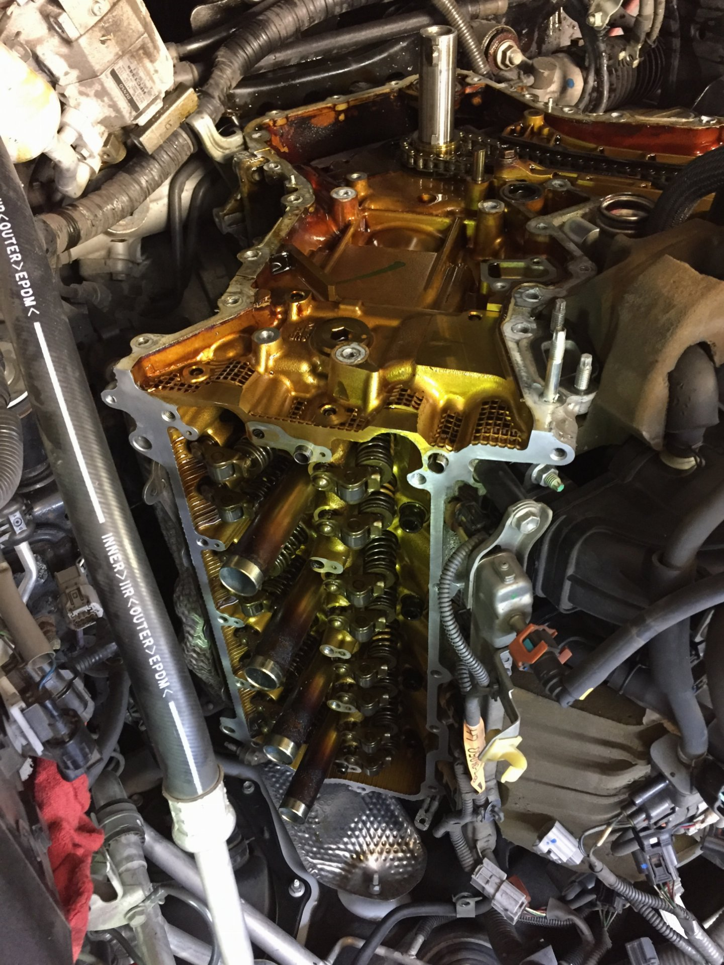 2009 lx570 timing chain replacement