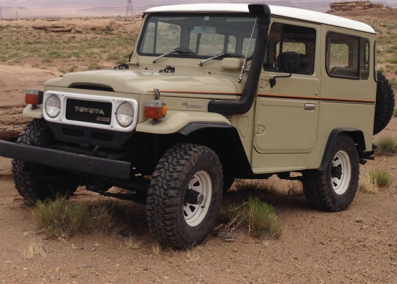 For Sale 1980 Toyota Land Cruiser Bj40 Diesel P S A