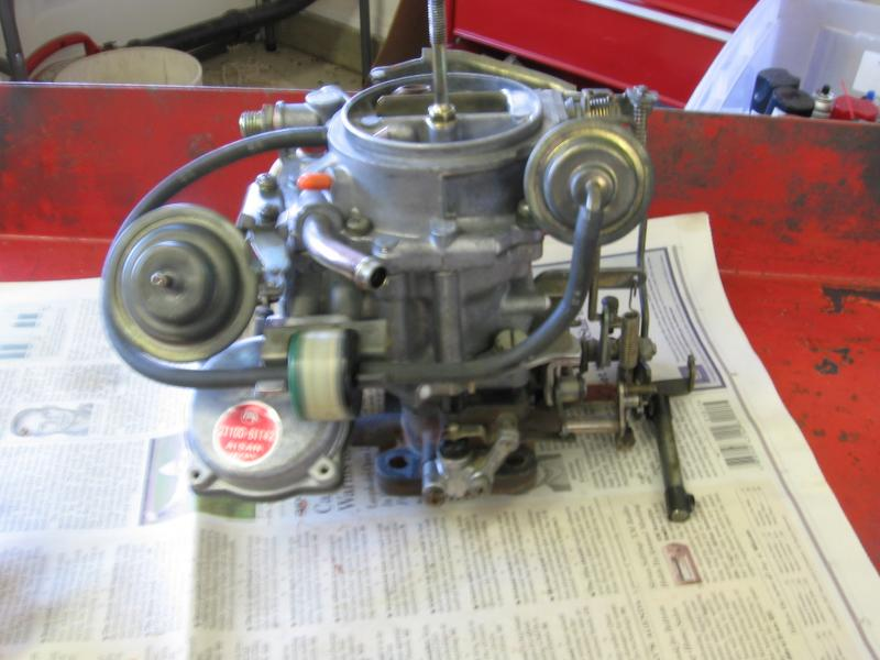 87 Fj60 Carb Photo Or Diagram Needed
