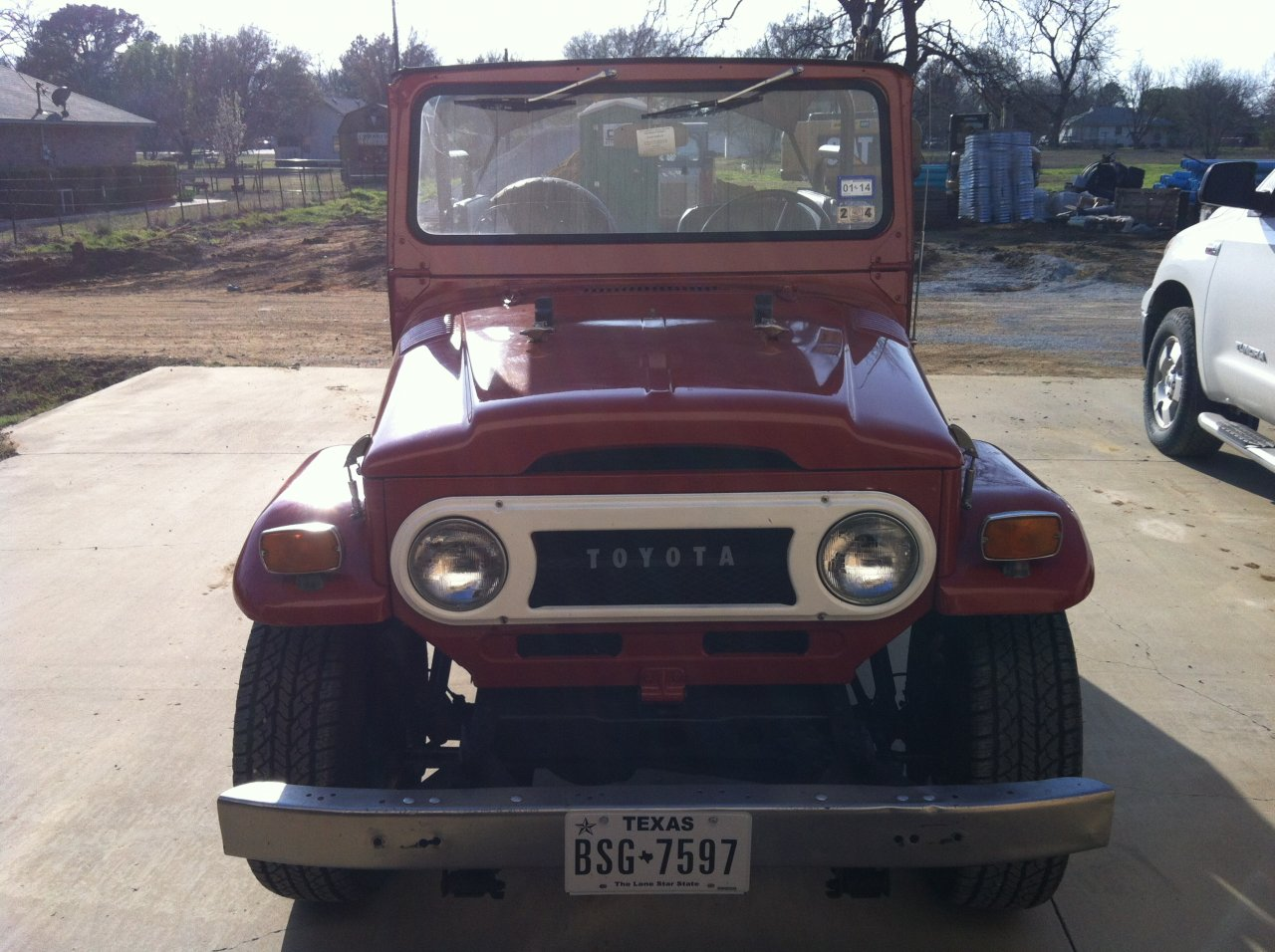 For Sale 1973 Toyota Fj40 Land Cruiser Ih8mud Forum Restored Three Years Ago 4wd All Original