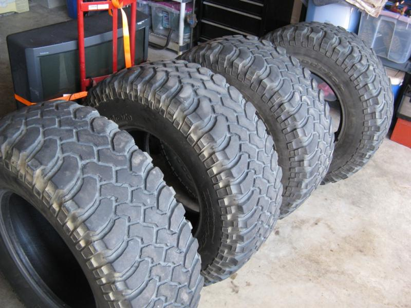 Used Mud Tires For Sale >> Craigslist Bfgoodrich Mud Terrain T A Km Tires 35 X 12 50 X 17 In