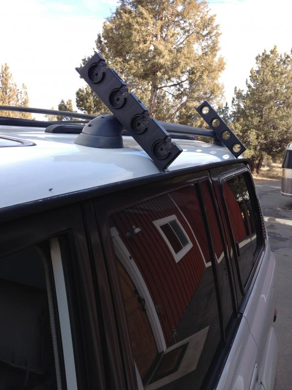Fly fishing rod holder roof mount ih8mud forum for Fly fishing rod holder