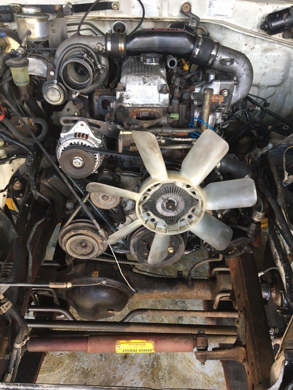 BJ73 engine upgrade to 14BT   Page 2   IH8MUD Forum