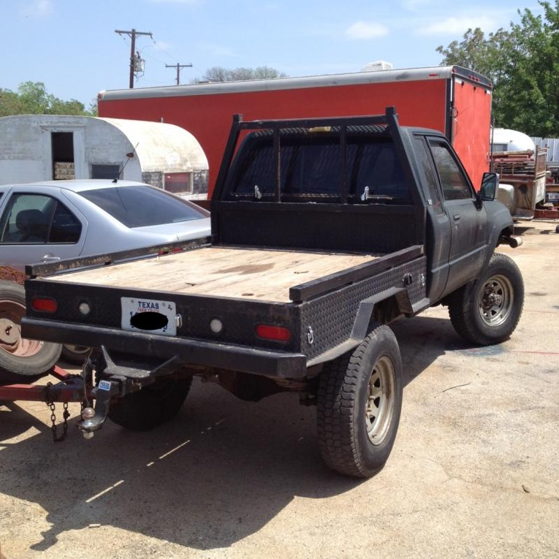 For Sale 1985 4x4 Ext Cab 22re Flatbed 5000