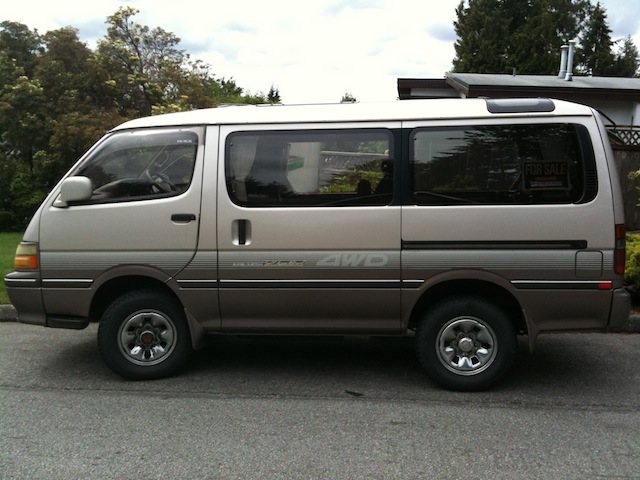 for sale or trade 1992 toyota hiace van 4x4 vancouver bc ih8mud forum. Black Bedroom Furniture Sets. Home Design Ideas